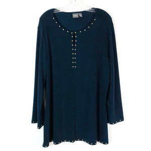 CHICOS | Travelers Gold Studded Tunic - Chico's 3